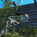 Main Enterance to the FiddleHead Farm House