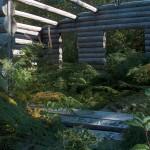 Looking inside the FiddleHead Farm House